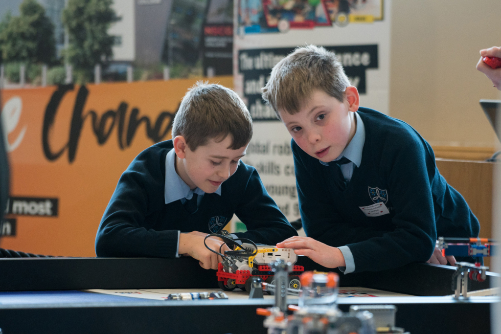 Moreton First's young engineers aim for the stars in FIRST