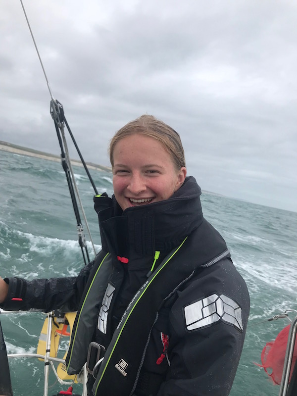 It's 'Aye Aye Skipper' As Annabel Lands Sailing